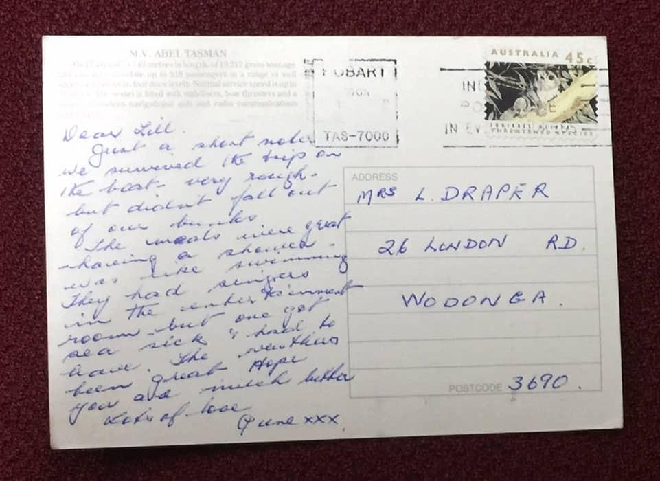 postcard abeltasman-tt-lines-back