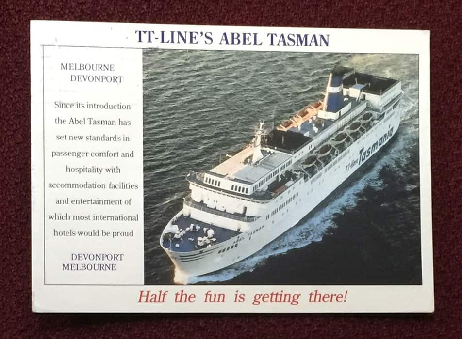 postcard abeltasman-tt-lines-front
