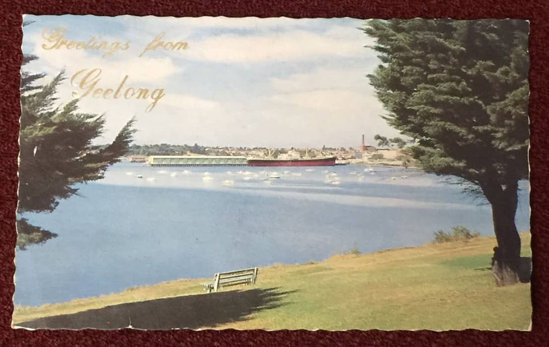 postcard geelong front