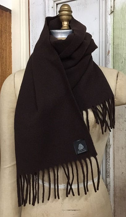 chocolate-brown-scarf