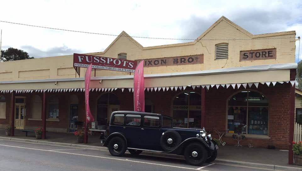 fusspots shop exterior